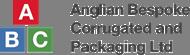 anglian bespoke corrugated logo