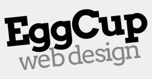 eggcup web design logo