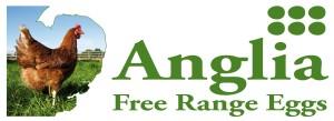 anglia free range eggs logo