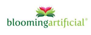 blooming artificial logo