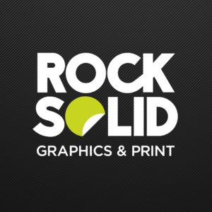 rock solid graphics logo