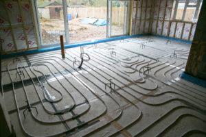 MAAC Air Conditioning under-floor heating photo