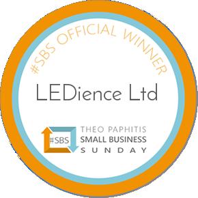 LEDience sbs badge