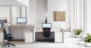 sit stand desks photo