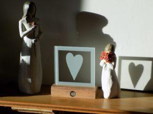 LEDience loving heart