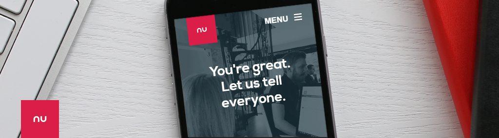 nu image new website banner