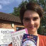 Chloe Smith MP Buy Local Challenge Card Shop