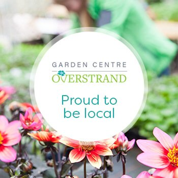 Overstrand Garden Centre - proud to be local logo