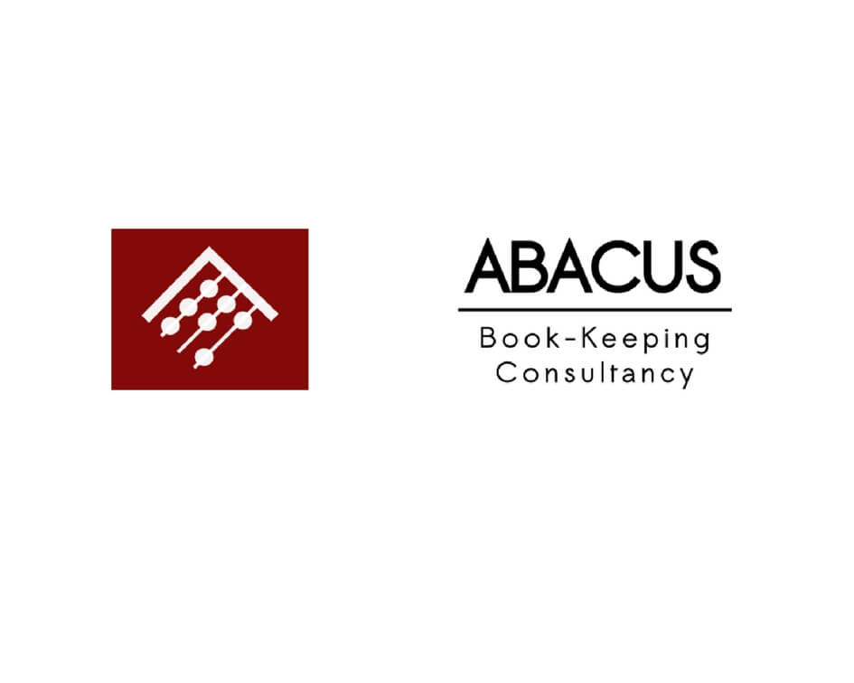 Abacus book-keeping logo