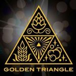 Golden triangle brewery logo