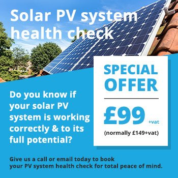 Power Different Solar PV System Health Check
