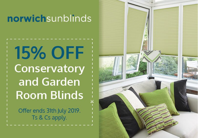 July special offer on blinds and flyscreens