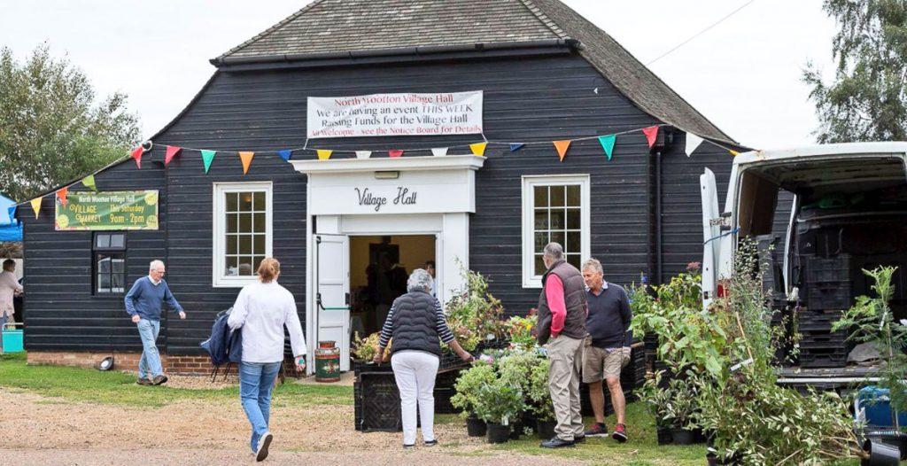 North Wootton Village Hall market