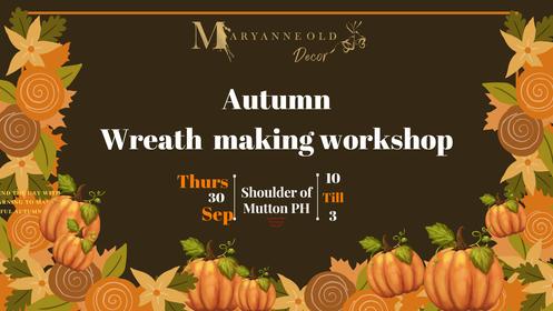 Autumn Wreath making workshop