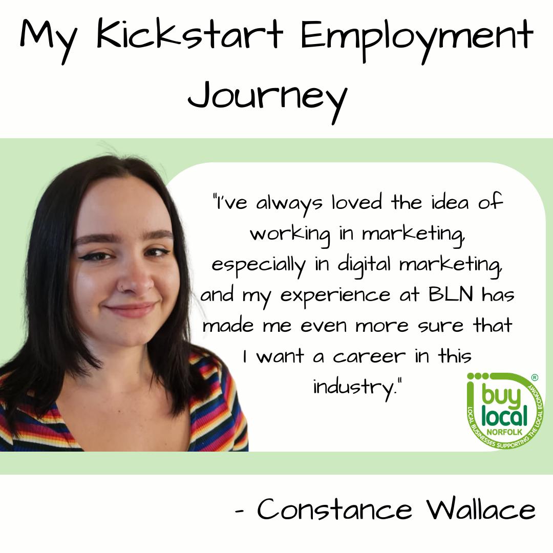 My Kickstart Employment Journey – Constance Wallace