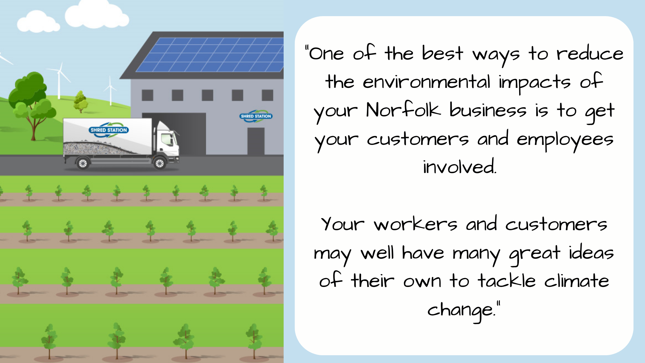 How to reduce the environmental impacts of your Norfolk business