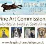 Leaping Hare Design logo
